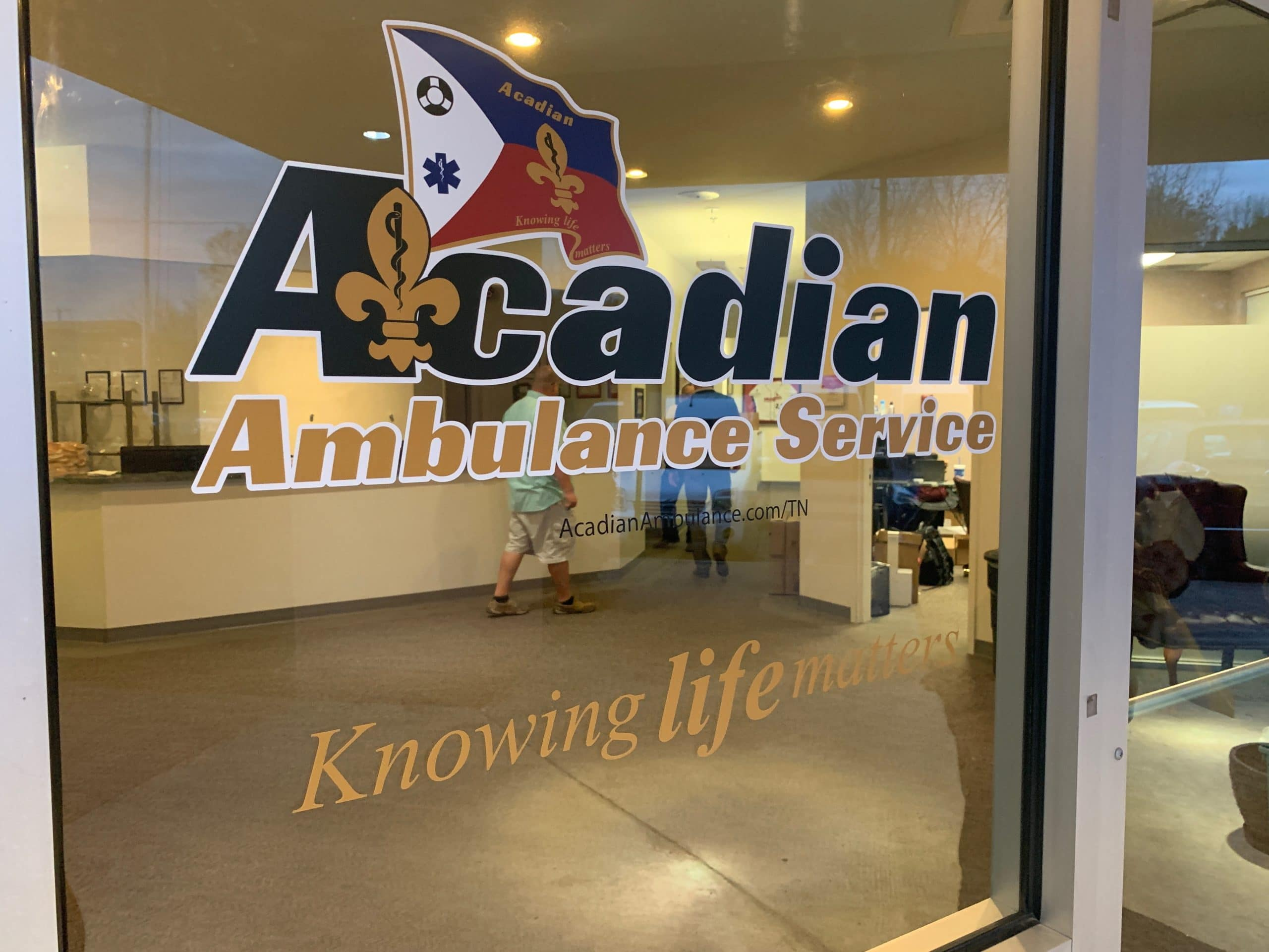 Acadian Ambulance Begins Service in Memphis